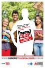 Cartaz para mobilização do público jovem