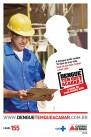 Cartaz para mobilização de indústrias