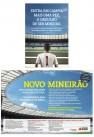 Três páginas sequenciais para o Novo Mineirão