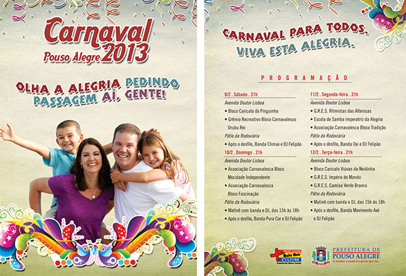 Flyer carnaval PA