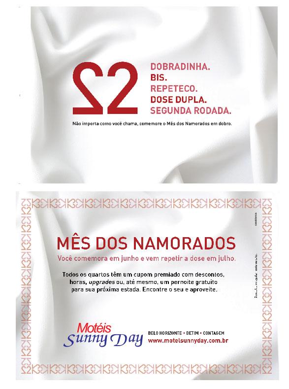 flyer campanha namorados sunny day