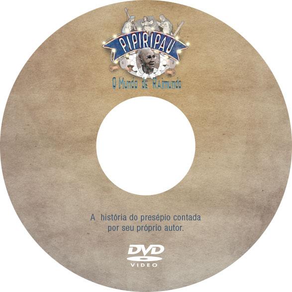 Bolacha DVD Pipiripau Fazenda Filmes