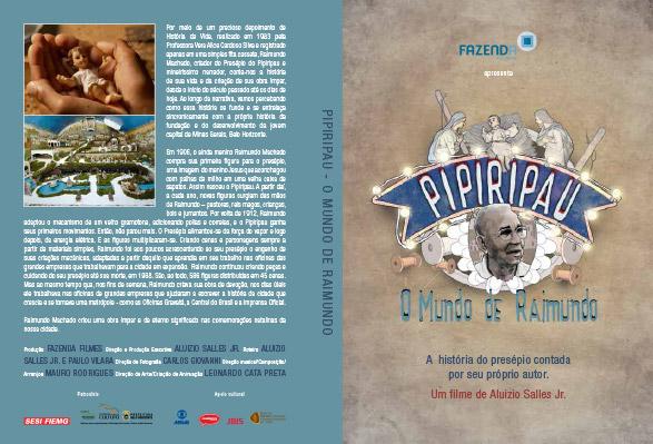 Capa DVD Pipiripau Fazenda Filmes