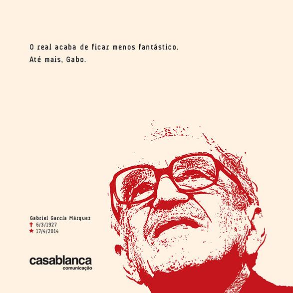 Post no Facebook em homenagem a Gabriel García Márquez