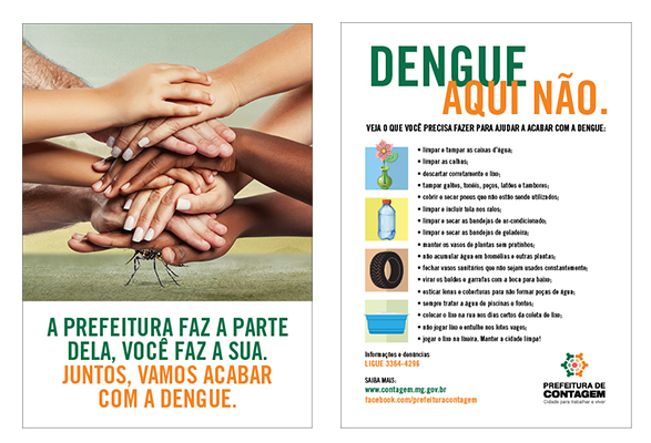 flyer dengue contagem